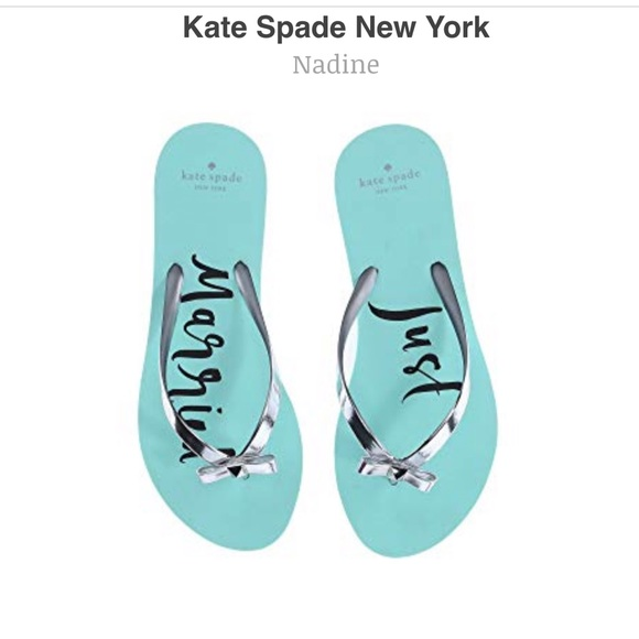 fc3879b43a88 kate spade Shoes - Kate Spade JUST MARRIED Flip Flops